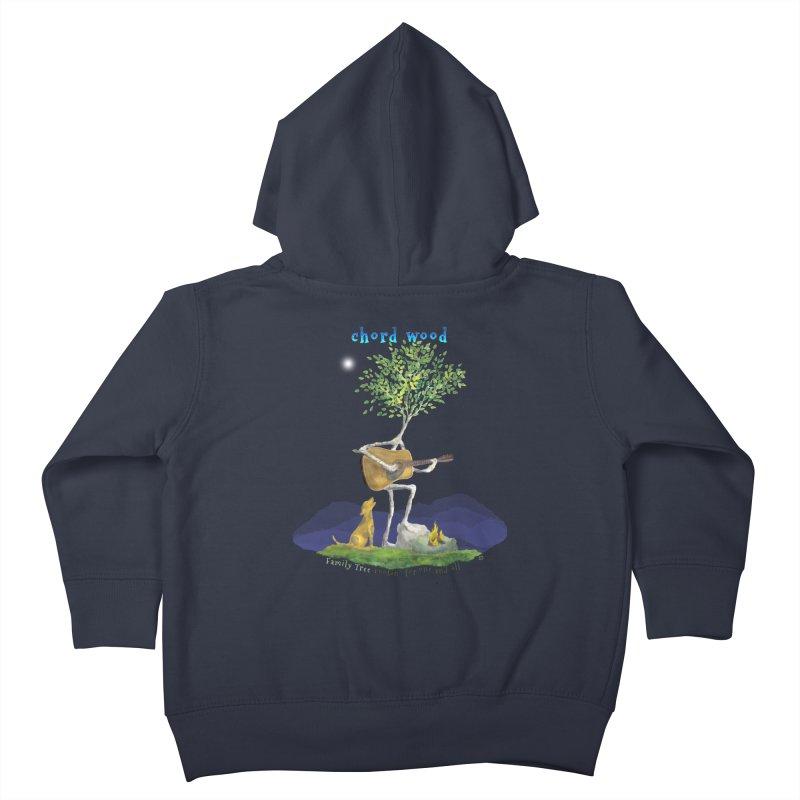 Chord Wood Kids Toddler Zip-Up Hoody by Family Tree Artist Shop