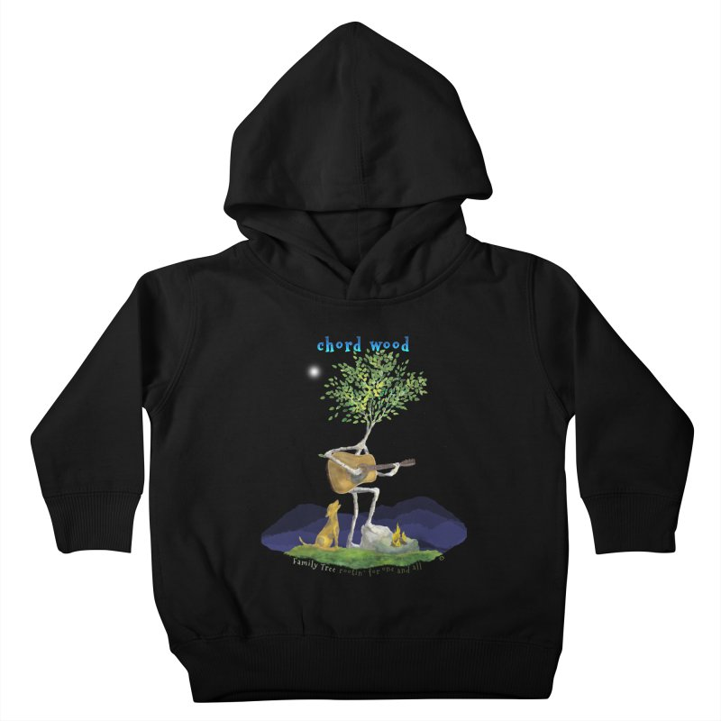 Chord Wood Kids Toddler Pullover Hoody by Family Tree Artist Shop