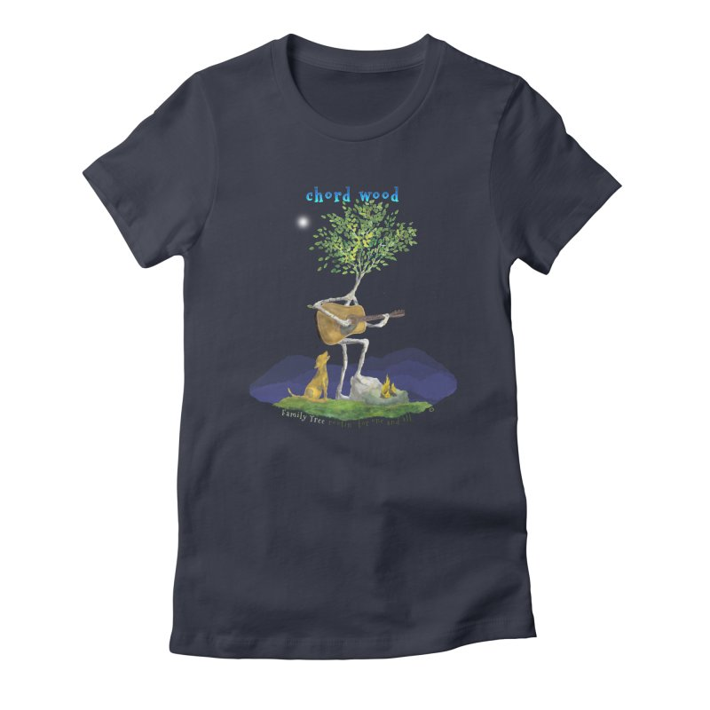 Chord Wood Women's T-Shirt by Family Tree Artist Shop