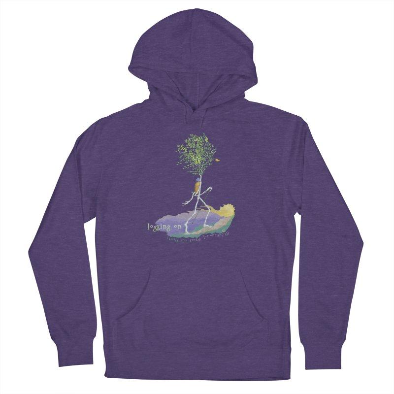 Loggin On Women's Pullover Hoody by Family Tree Artist Shop