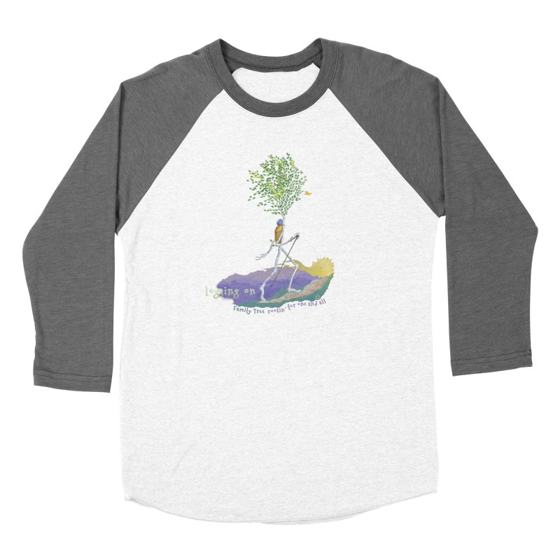 Loggin On Women's Longsleeve T-Shirt by Family Tree Artist Shop