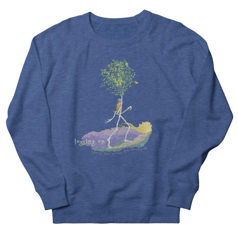 Loggin On Men's Sweatshirt by Family Tree Artist Shop