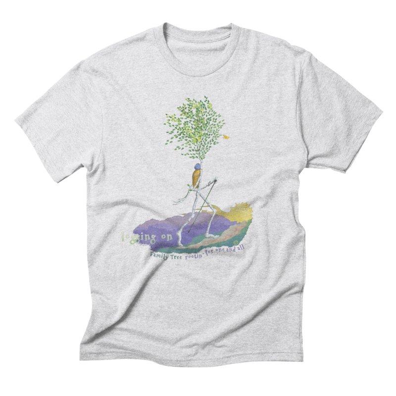 Loggin On Men's T-Shirt by Family Tree Artist Shop
