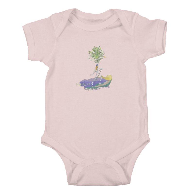 Loggin On Kids Baby Bodysuit by Family Tree Artist Shop