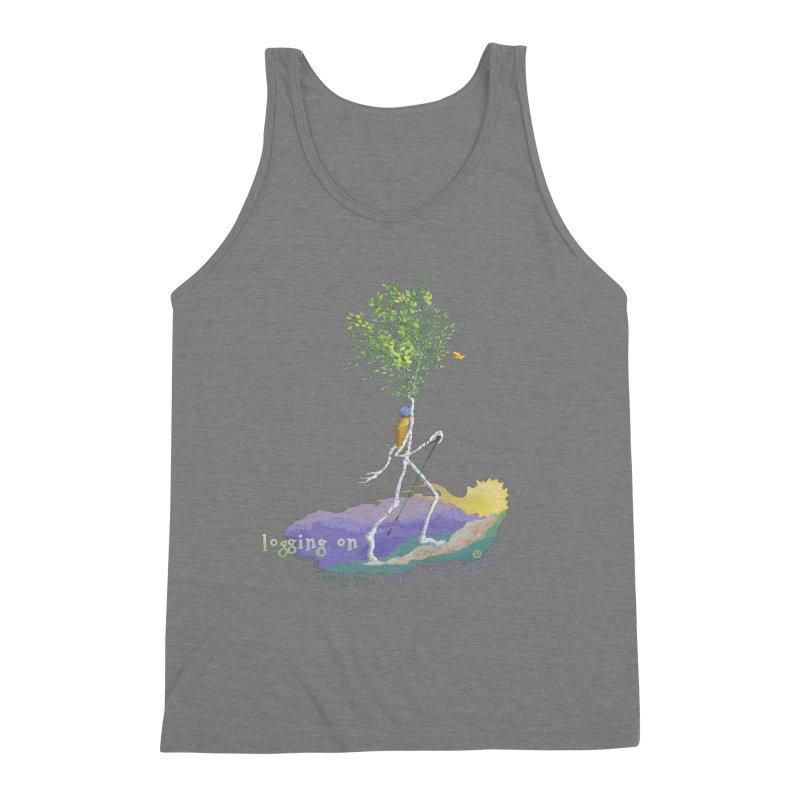 Loggin On Men's Tank by Family Tree Artist Shop