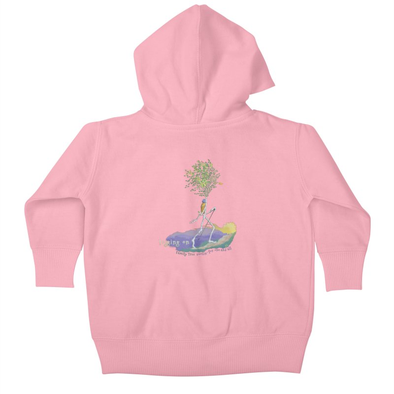 Loggin On Kids Baby Zip-Up Hoody by Family Tree Artist Shop