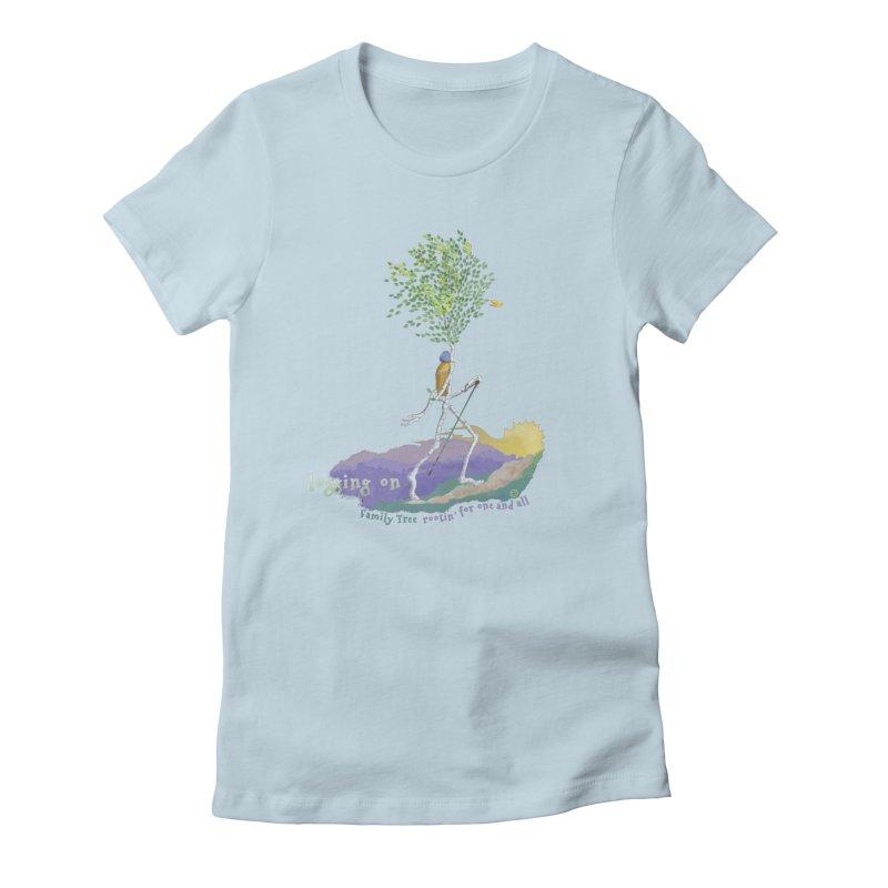 Loggin On Women's T-Shirt by Family Tree Artist Shop