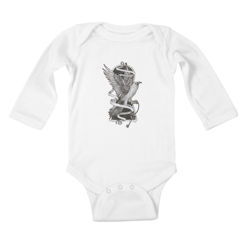 Key to the Universe Kids Baby Longsleeve Bodysuit by LStrider