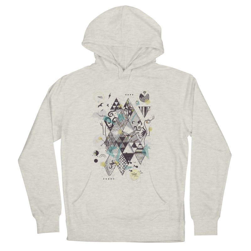 Geometric Nature Women's Pullover Hoody by LStrider