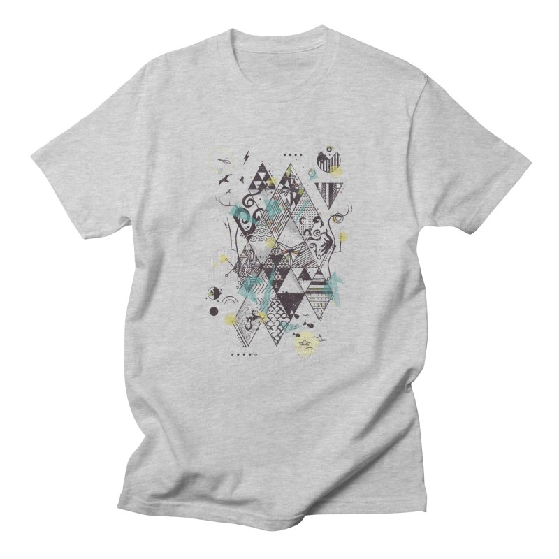 Geometric Nature Men's T-Shirt by LStrider