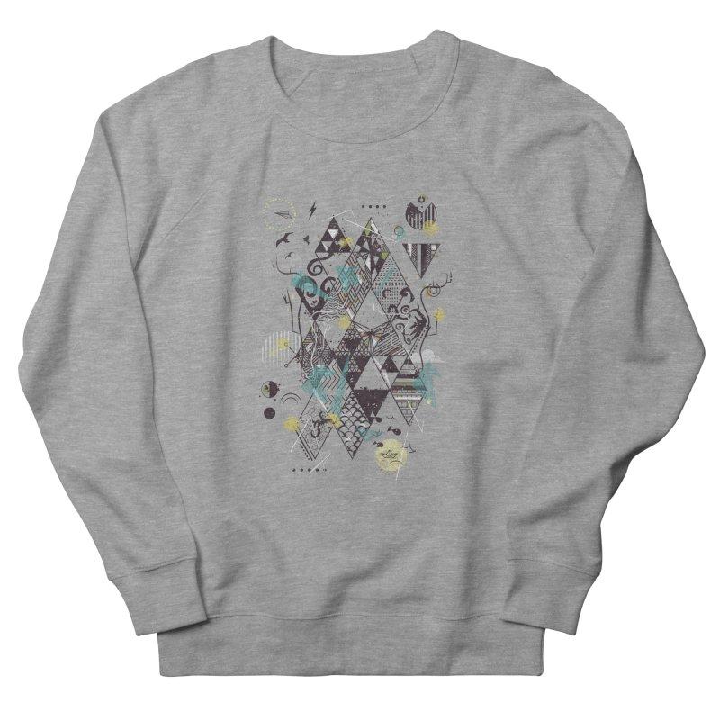 Geometric Nature Men's Sweatshirt by LStrider