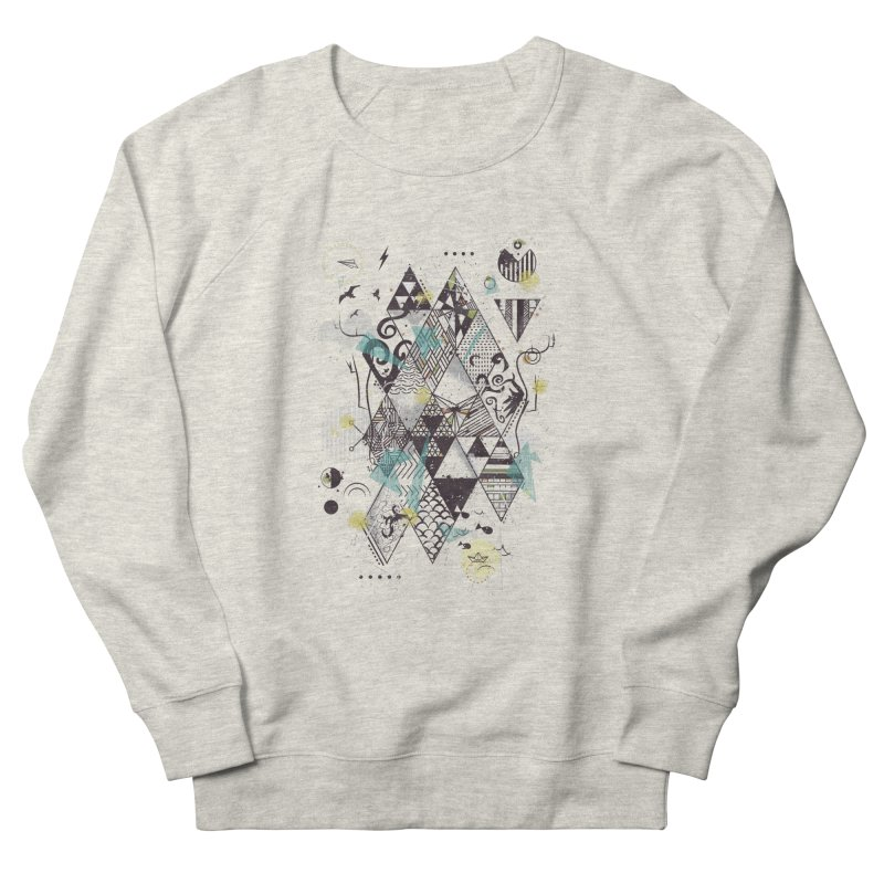 Geometric Nature Men's Sweatshirt by LStrider
