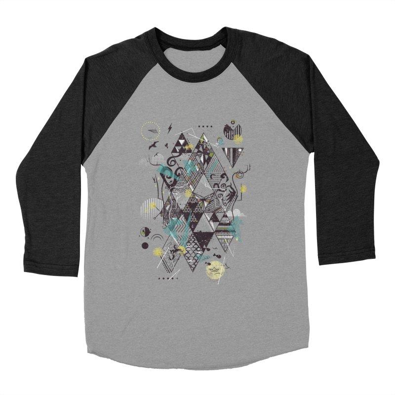 Geometric Nature Women's Baseball Triblend T-Shirt by LStrider