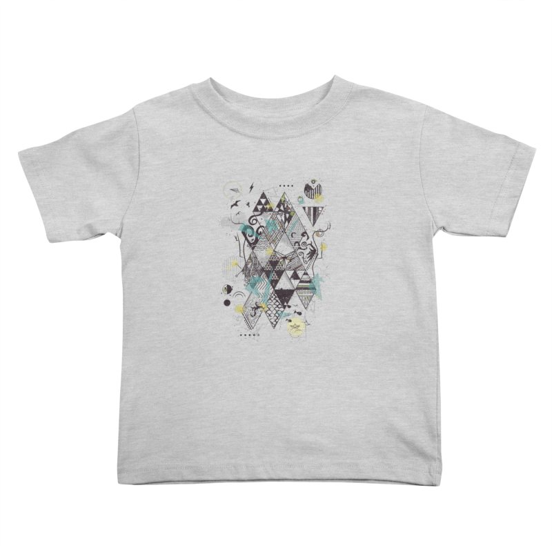 Geometric Nature Kids Toddler T-Shirt by LStrider
