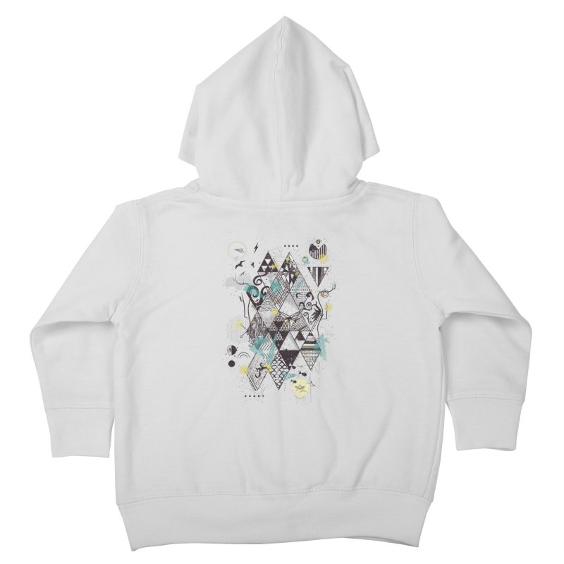 Geometric Nature Kids Toddler Zip-Up Hoody by LStrider