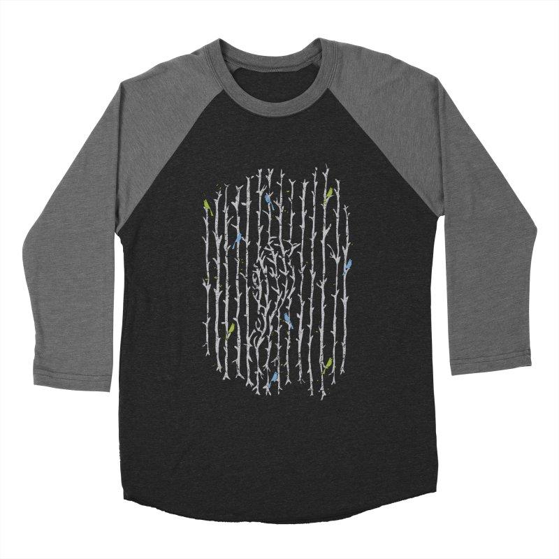 Treebird Men's Baseball Triblend T-Shirt by LStrider