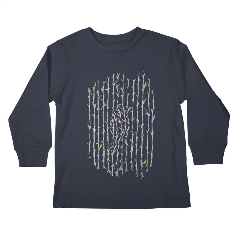 Treebird Kids Longsleeve T-Shirt by LStrider