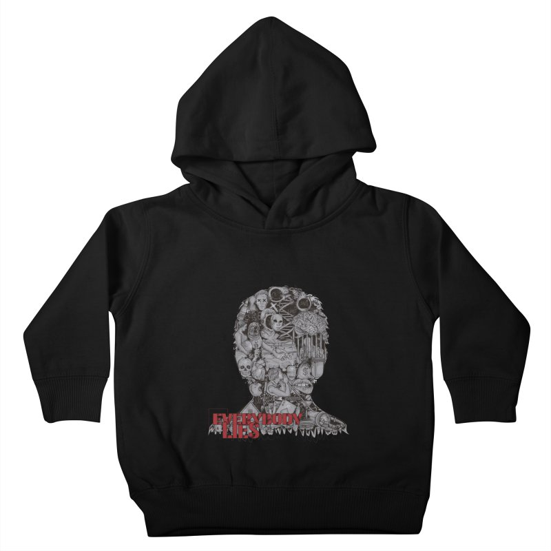 Everybody Lies Kids Toddler Pullover Hoody by LStrider
