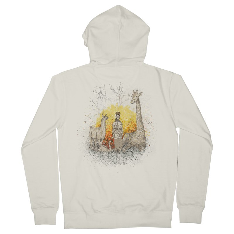 Long Neck Folks Men's Zip-Up Hoody by LStrider