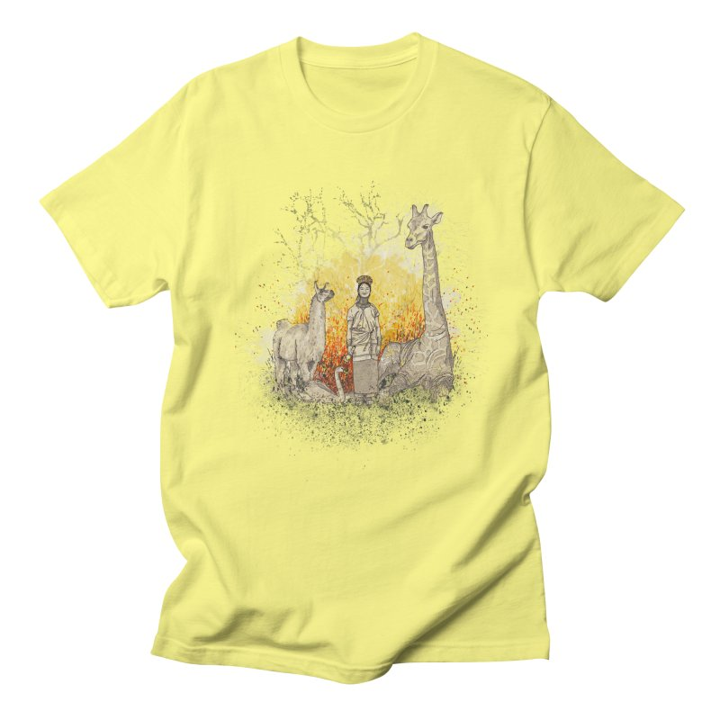 Long Neck Folks Men's T-shirt by LStrider