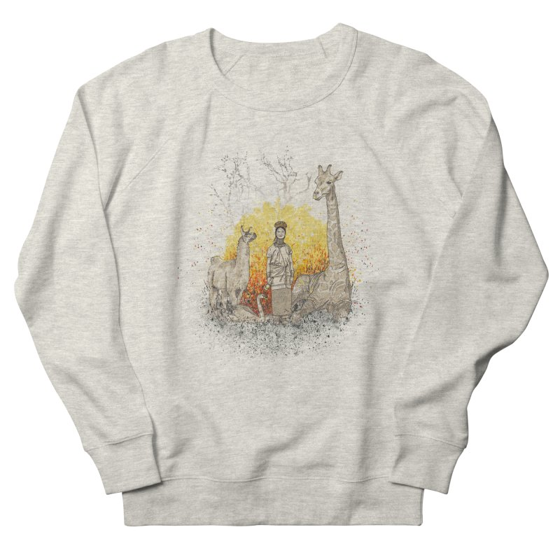 Long Neck Folks Men's Sweatshirt by LStrider