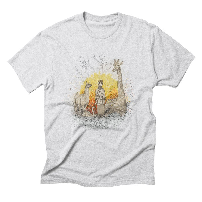 Long Neck Folks Men's Triblend T-Shirt by LStrider