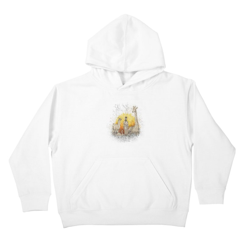 Long Neck Folks Kids Pullover Hoody by LStrider