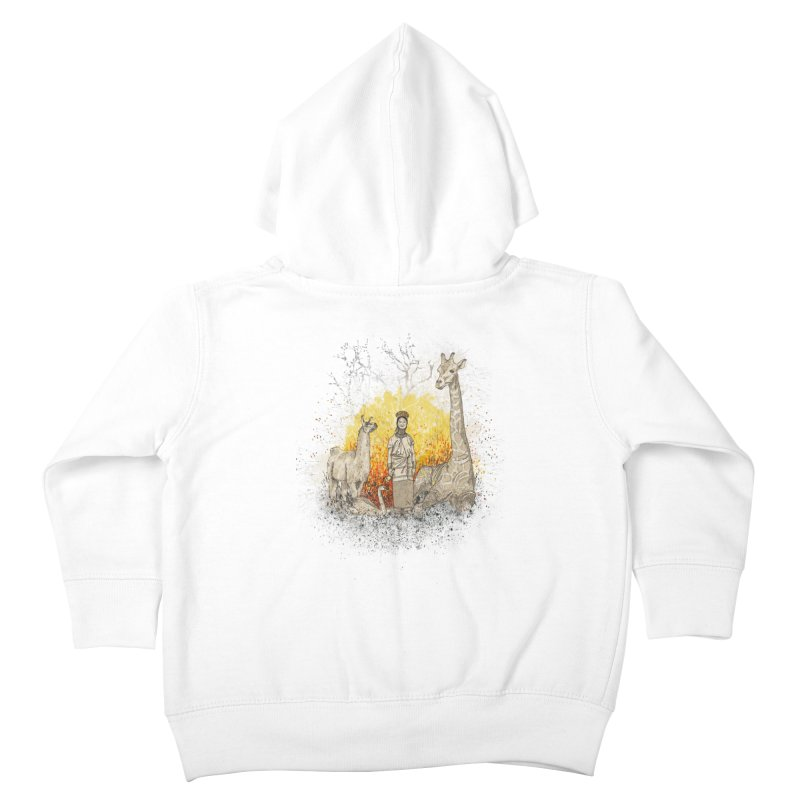 Long Neck Folks Kids Toddler Zip-Up Hoody by LStrider