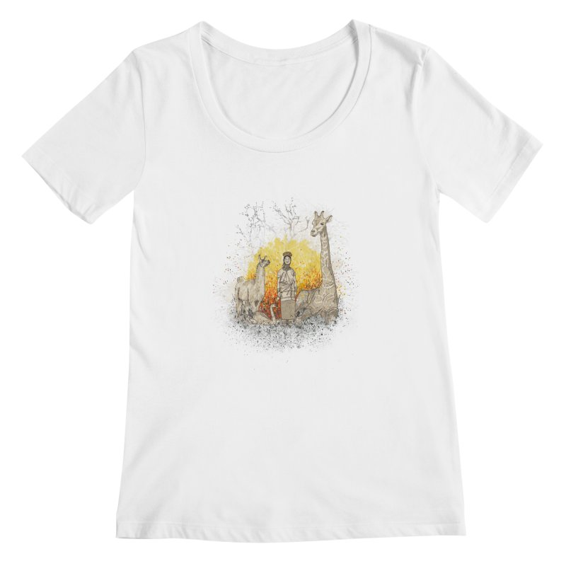 Long Neck Folks Women's Scoopneck by LStrider