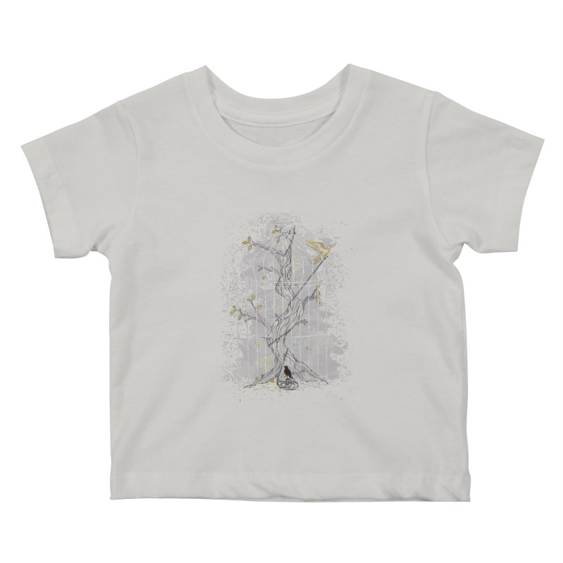Home Confinement Kids Baby T-Shirt by LStrider