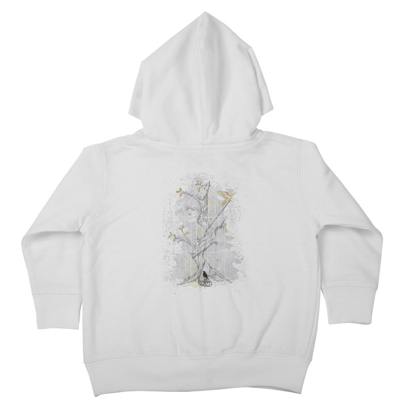 Home Confinement Kids Toddler Zip-Up Hoody by LStrider