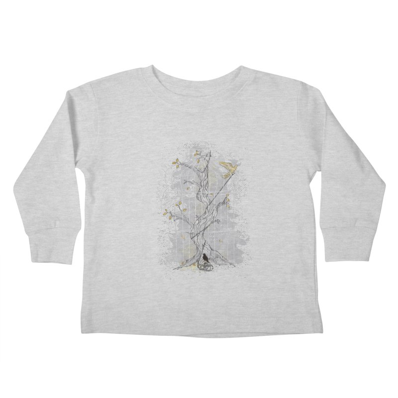 Home Confinement Kids Toddler Longsleeve T-Shirt by LStrider