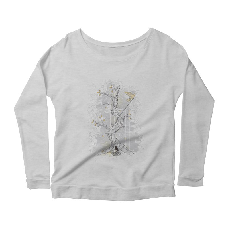 Home Confinement Women's Longsleeve Scoopneck  by LStrider