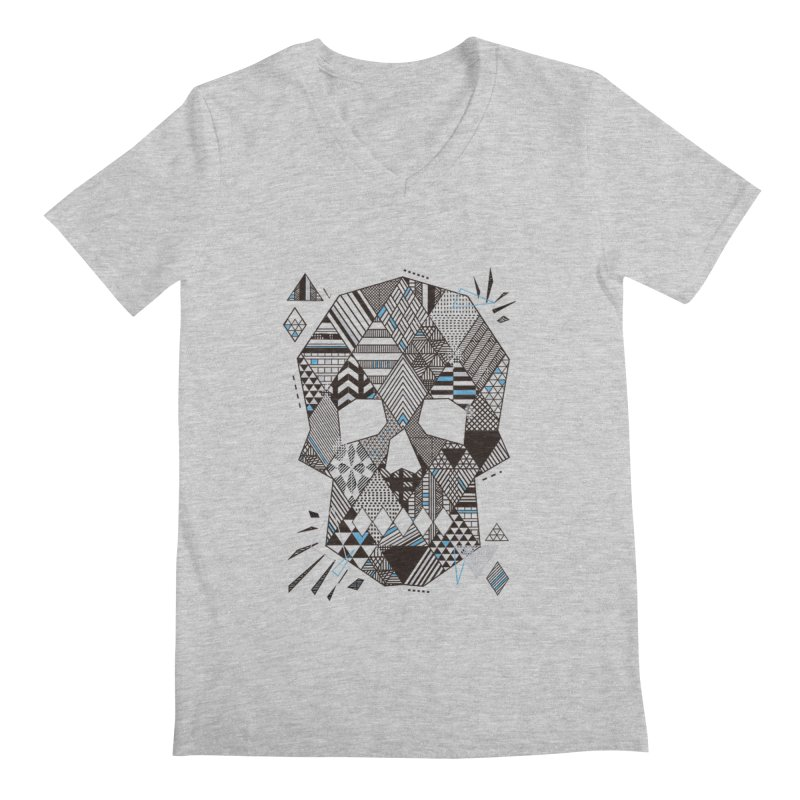 Geometric Soul Men's V-Neck by LStrider