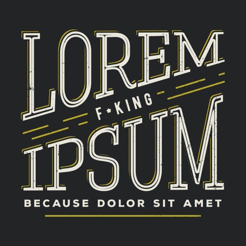 Lorem ipsum by Lucia Sancho's Artist Shop