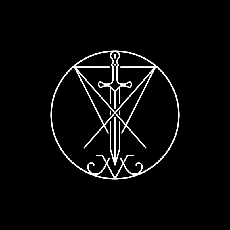 Dominion Symbol - White by The Luciferian Dominion