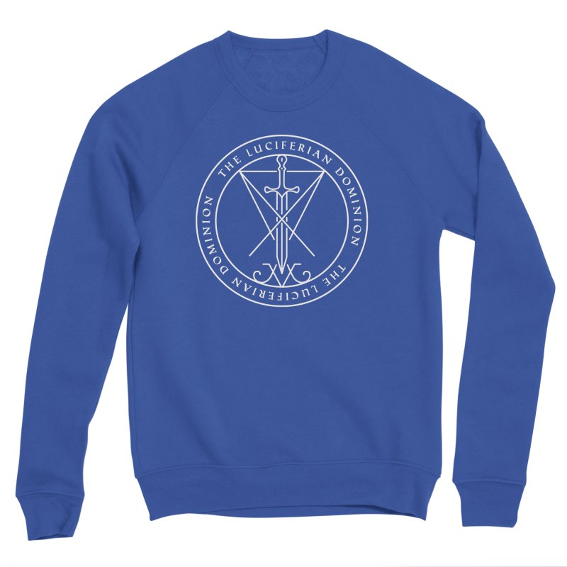 Dominion Emblem - White Women's Sweatshirt by The Luciferian Dominion