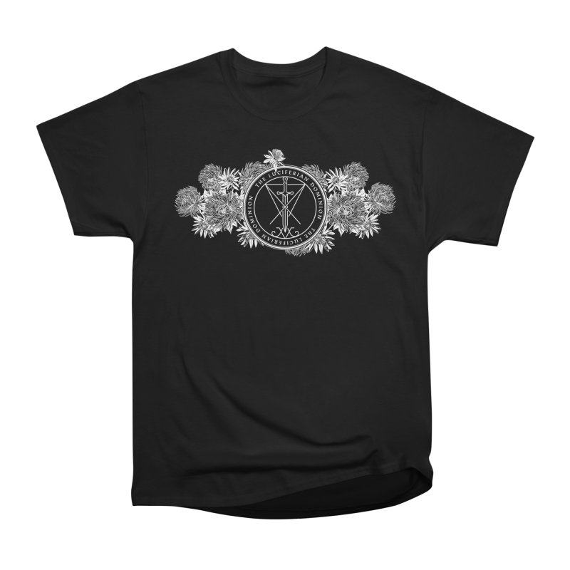 Dominion Flowers - White Women's T-Shirt by The Luciferian Dominion