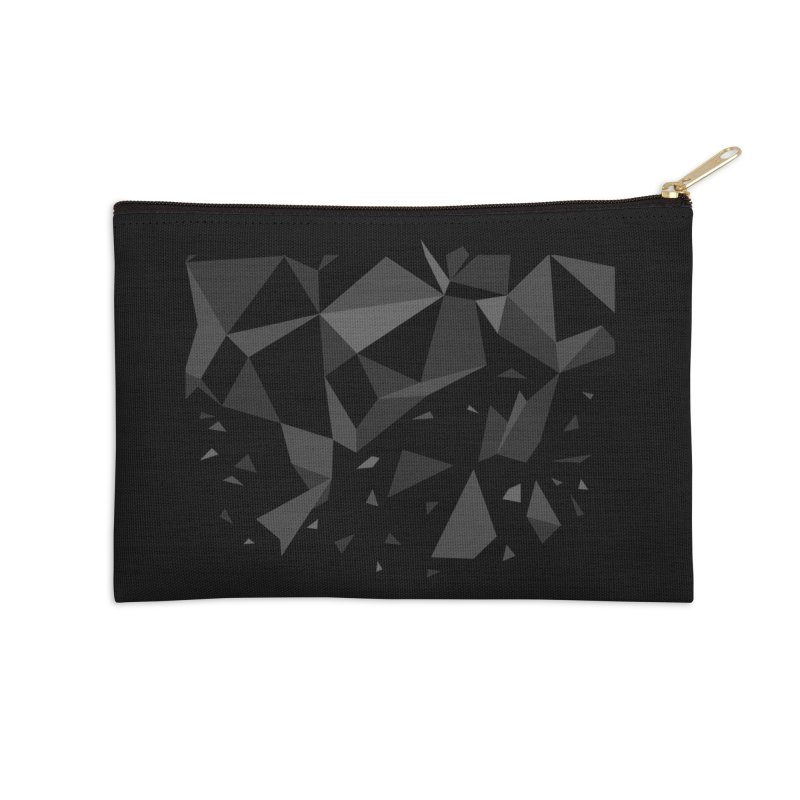 Decadence Accessories Zip Pouch by John Lucke Designs