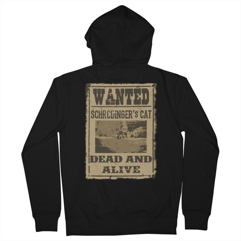Dead And Alive Men's Zip-Up Hoody by John Lucke Designs