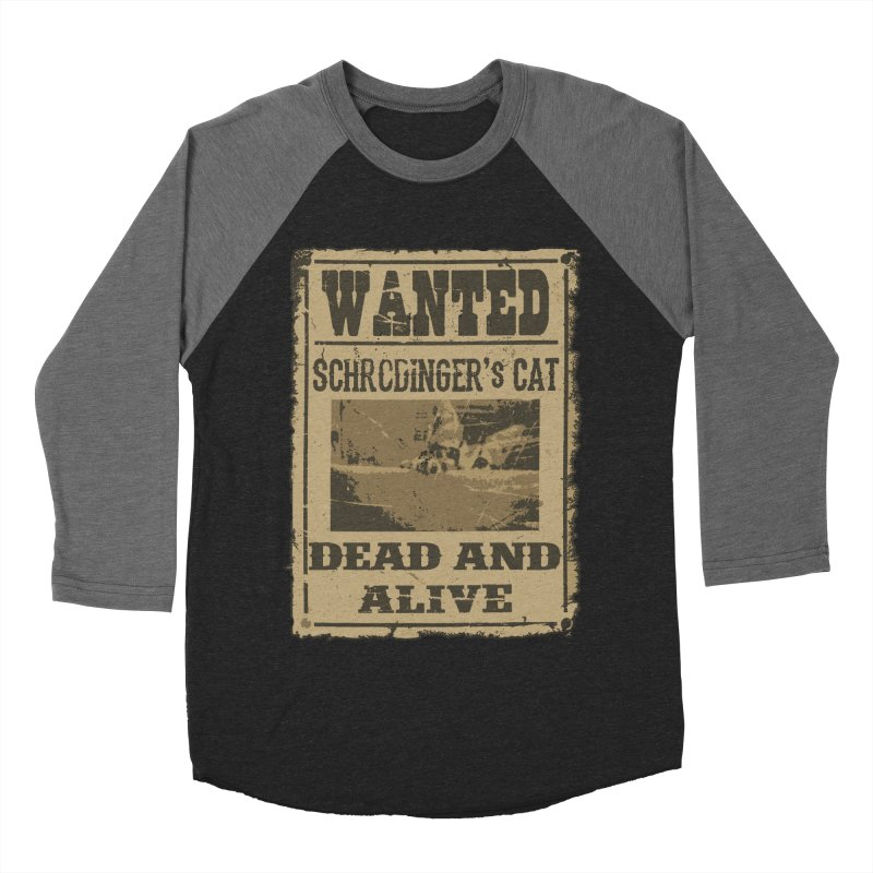 Dead And Alive Women's Baseball Triblend T-Shirt by John Lucke Designs