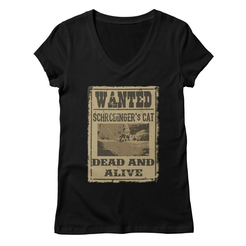Dead And Alive Women's V-Neck by John Lucke Designs