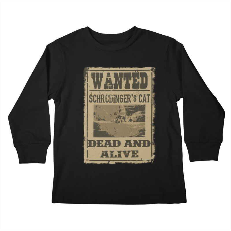 Dead And Alive Kids Longsleeve T-Shirt by John Lucke Designs
