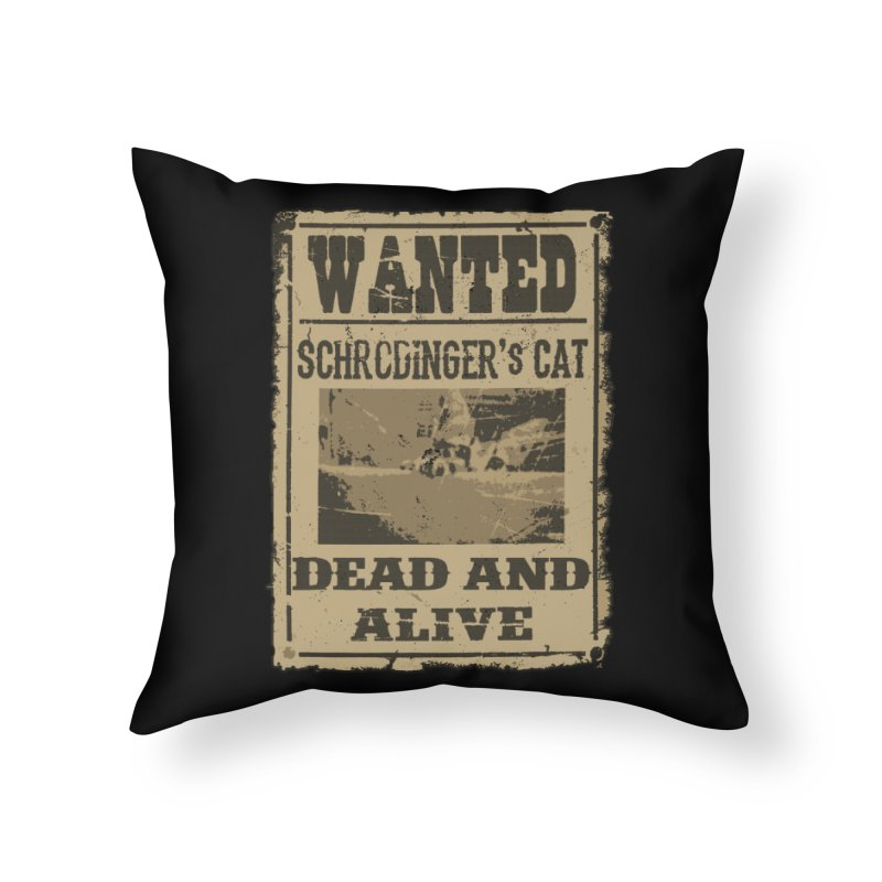 Dead And Alive Home Throw Pillow by John Lucke Designs