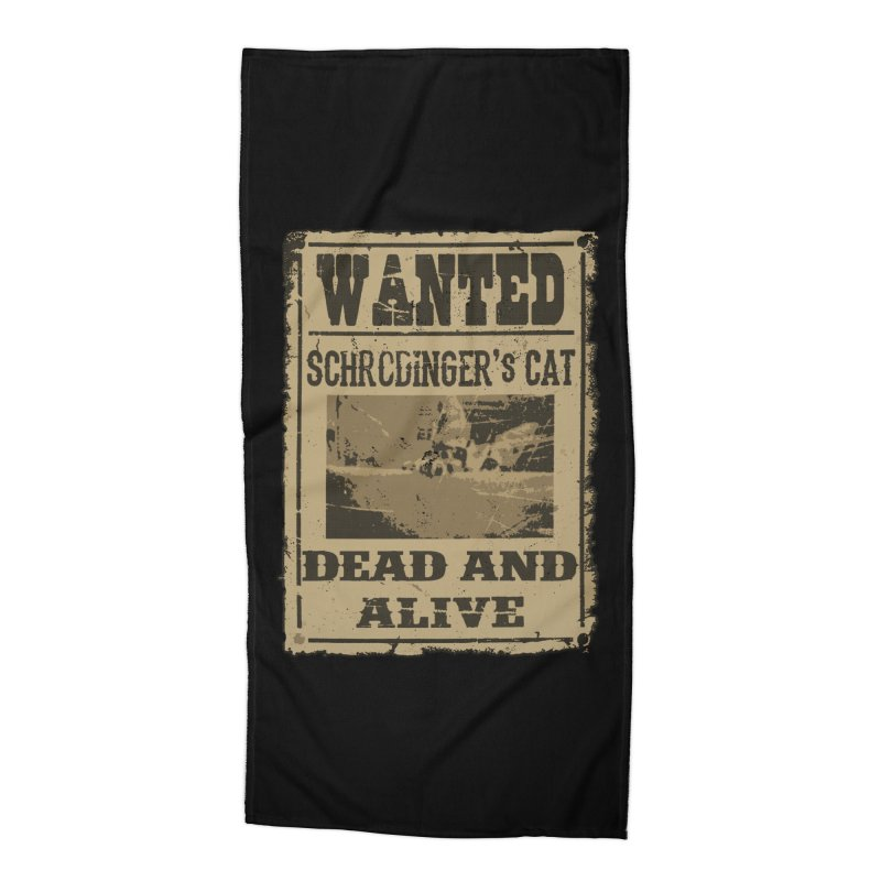 Dead And Alive Accessories Beach Towel by John Lucke Designs