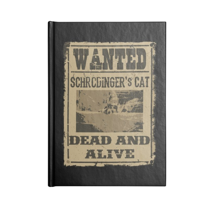 Dead And Alive Accessories Notebook by John Lucke Designs