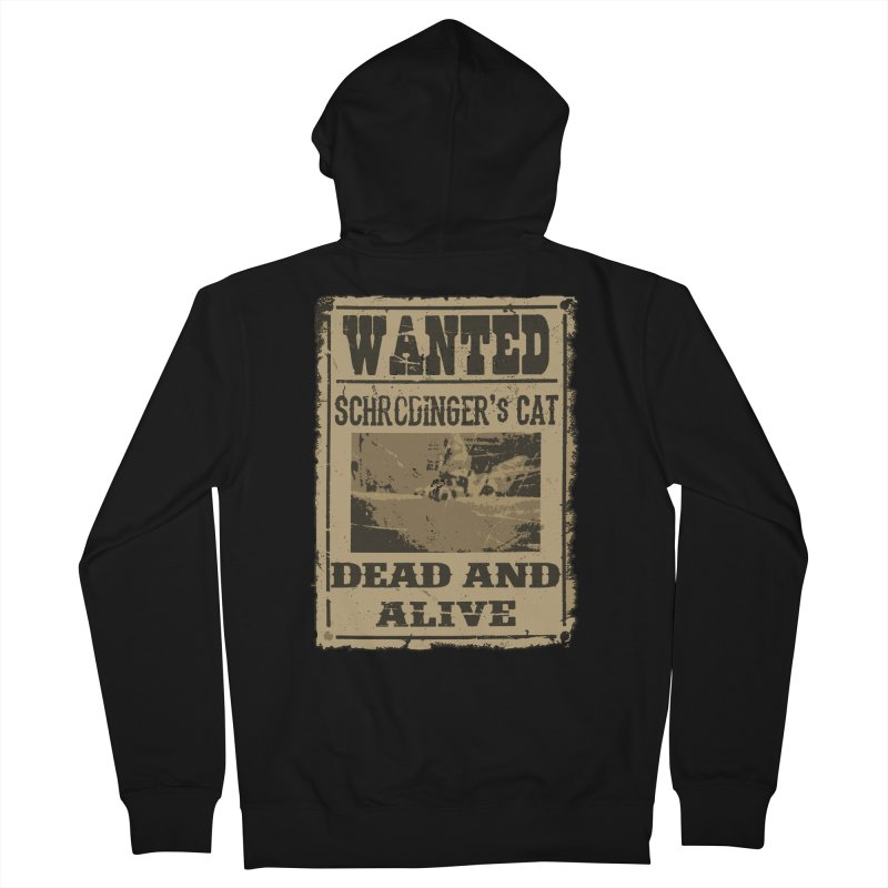Dead And Alive Women's Zip-Up Hoody by John Lucke Designs