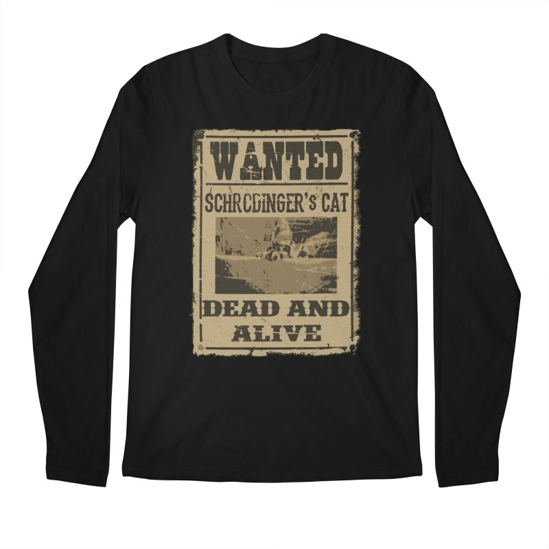 Dead And Alive Men's Longsleeve T-Shirt by John Lucke Designs