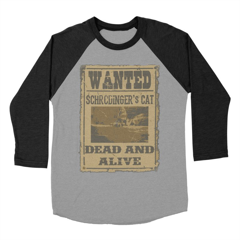 Dead And Alive Women's Baseball Triblend Longsleeve T-Shirt by John Lucke Designs