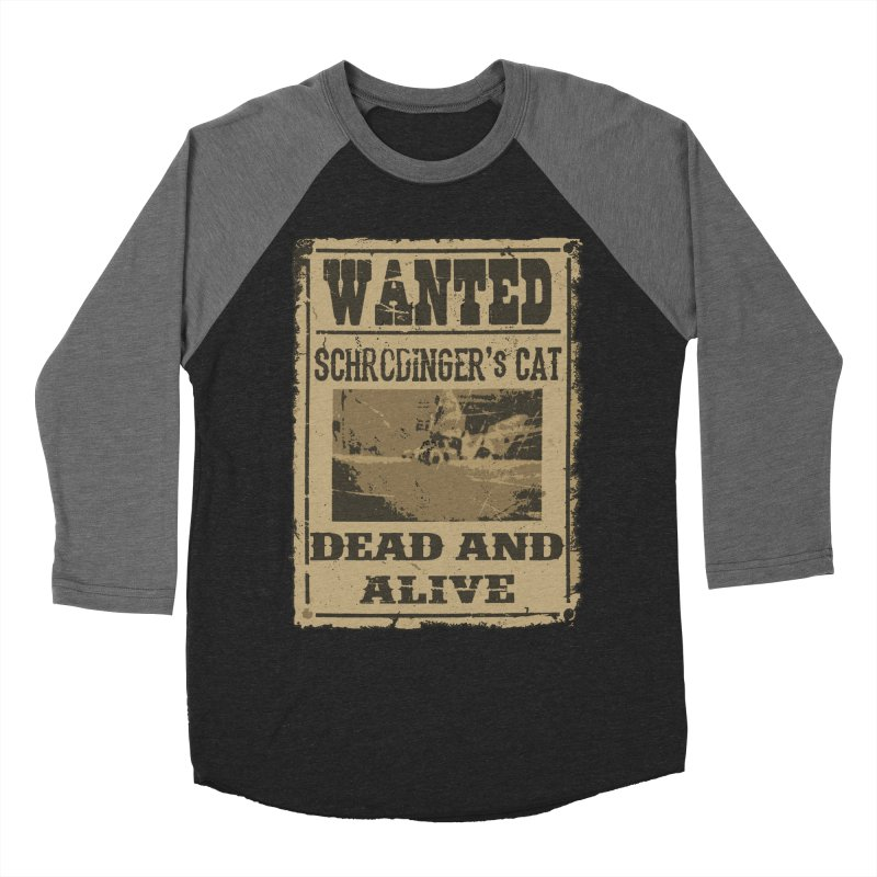 Dead And Alive Men's Baseball Triblend T-Shirt by John Lucke Designs